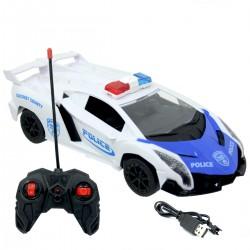 1:16 Racing Car Kumandalı Şarjlı Polis Arabası