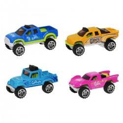 1:64 Çılgın Renkli Seri Mini Metal Arabalar