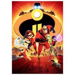 100 Parça Incredibles 2 Puzzle