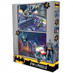 2 in 1 Puzzle : Batman