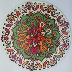 Ahşap Çanta Plakası 7275 Mozaik