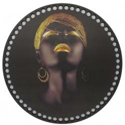 Ahşap Çanta Plakası Arap Kızı Ap7008