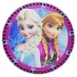 Ahşap Çanta Plakası Frozen Fr7001
