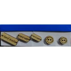 Ahsap Handmade Düğme
