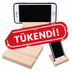 Ahşap Telefon Ve Tablet Tutucu