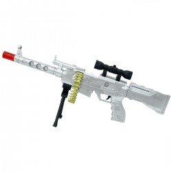 AK-47 Electric Flash Gun  Işıklı Sesli Tüfek