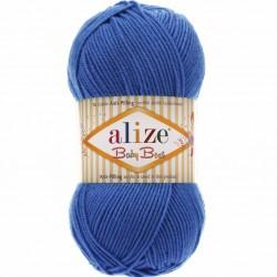 Alize Baby Best El Örgü Bebe İpi 141 Saks Mavisi