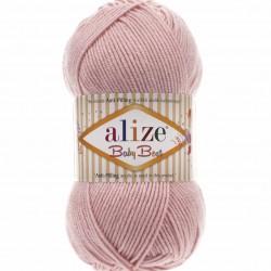 Alize Baby Best El Örgü Bebe İpi 161 Pudra Rengi