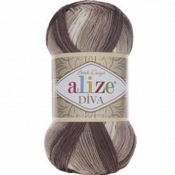 Alize Diva Batik El Örgü İpi 1815
