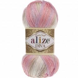 Alize Diva Batik El Örgü İpi 2807