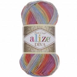 Alize Diva Batik El Örgü İpi 3242