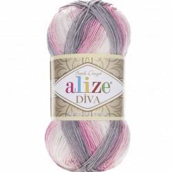 Alize Diva Batik El Örgü İpi 3245