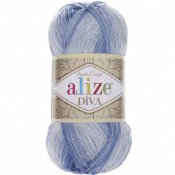 Alize Diva Batik El Örgü İpi 3282