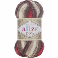 Alize Diva Batik El Örgü İpi 4574