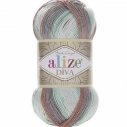 Alize Diva Batik El Örgü İpi 5550