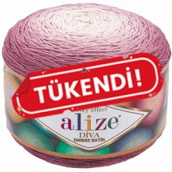 Alize Diva Ombre Batik El Örgü İpi 7377