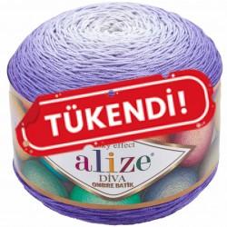 Alize Diva Ombre Batik El Örgü İpi 7378