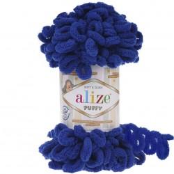 Alize Puffy El Örgü İpi 141 Saks Mavisi