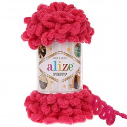 Alize Puffy El Örgü İpi 149 Fuşya
