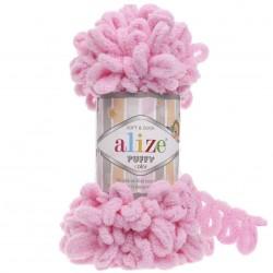 Alize Puffy El Örgü İpi 185 Toz Pembe