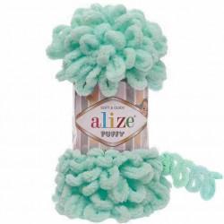 Alize Puffy El Örgü İpi 19 Açık Mint
