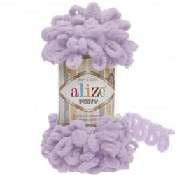 Alize Puffy El Örgü İpi 27 Lila