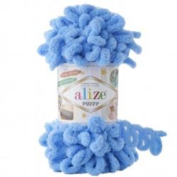 Alize Puffy El Örgü İpi 289 Mavi