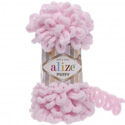 Alize Puffy El Örgü İpi 31 Bebe Pembesi