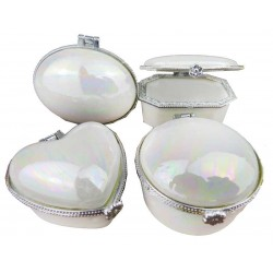 Altin Kutu Gümüş 4x5 Cm ( 12 Adet )