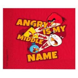 Angry Birds Peçete 33 Cm ( 16 Adet )