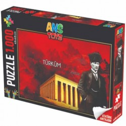 Ans Puzzle 1000li ( Atatürk Ve Anıtkabir )
