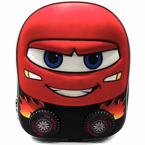 Araba Anaokul Çantası 7099 Kırmızı