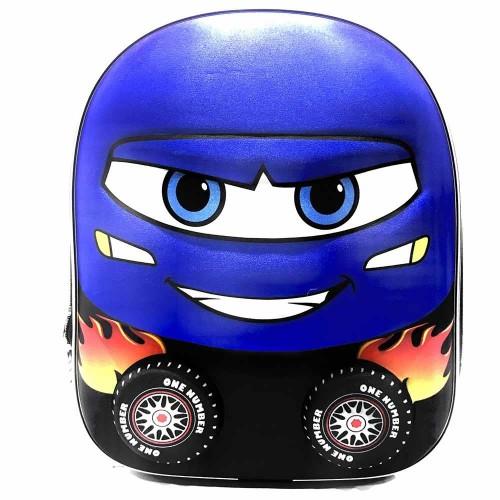 Araba Anaokul Çantası 7099 Mavi