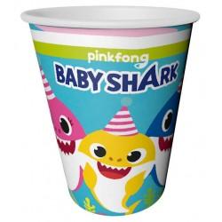 Baby Shark Bardak 220/240Cc  ( 8 Adet )