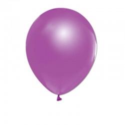 Balon 12 İnc Metalik Açik Violet (Mor) ( 20 Adet )