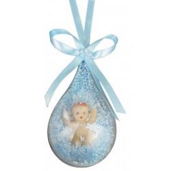 Balon İçinde Bebek Mavi ( 10 Adet )