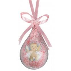 Balon İçinde Bebek Pembe ( 10 Adet )