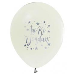 Balon İyiki Doğdun Krom Beyaz ( 100 Adet )