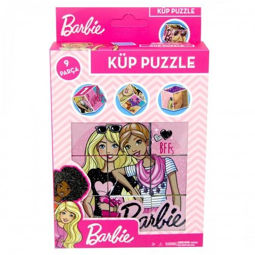 Barbie Küp Puzzle 9 Parça