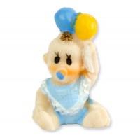 Bebek Balonlu Mavi ( 2x4,5 Cm )