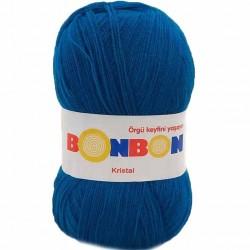 Bonbon Kristal Örgü Lif İpi 98685 Mavi
