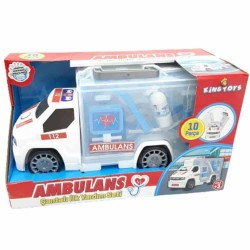 Çantalı Ambulans Kamyon ( 10 Parçalı İlk Yardım Seti )
