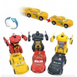 Cars Robota Dönüşen Çek Bırak Araba Şimsek Mcqueen ( 1 Adet )