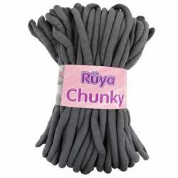 Chunky Dev Örgü Sosis Ipi Koyu Gri ( 1 KG )