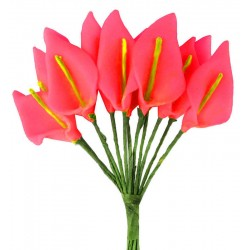 Çiçek Gala Kirmizi 1.5x2.5 Cm ( 144 Adet )
