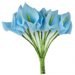 Çiçek Gala Mavi 1.5x2.5 Cm ( 144 Adet )