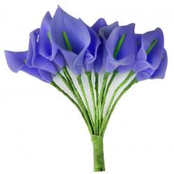 Çiçek Gala Mor 1.5x2.5 Cm ( 144 Adet )