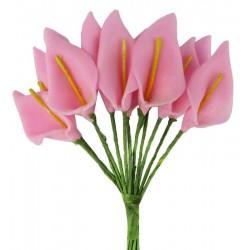Çiçek Gala Pembe 1.5x2.5 Cm ( 144 Adet )