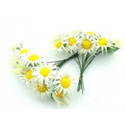 Çiçek Papatya Krem 3.5x9 Cm ( 100 Adet )