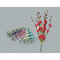 Çiçek Uzun Dalli Beyaz 3x18 Cm ( 100 Adet )